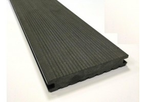 Террасная доска полнотелая 145х22 графит