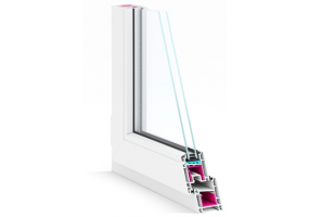 Пластиковые окна REHAU BLITZ New