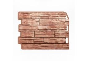 Панель фасадная Wandstein Скол светло-коричневый
