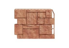 Панель фасадная Wandstein ТУФ Светло-коричневый
