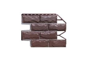 Панель фасадная Wanstein Доломит Темно-коричневый