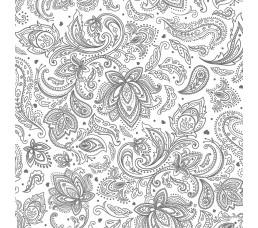 «Б-Пласт» Текстильный орнамент серебро