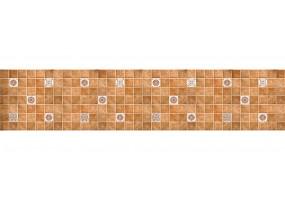 Кухонный фартук ХДФ 0,6Х2,44М, ТЕРРАКОТОВАЯ ПЛИТКА