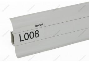 ПЛИНТУС ПВХ «LINEPLAST», L008