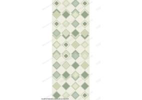 Глянцевая панель «ВЕК», Лотос зеленый (ромбы)