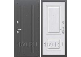 Дверь входная металлическая Groff «T2-232» Brown Oak