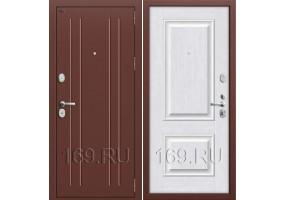 Дверь входная металлическая Groff «T2-232» Milk Oak