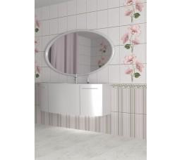 Панели ПВХ ВЕК с 3D печатью Камила розовая