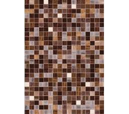 Панели ПВХ ВЕК с 3D печатью Мозайка коричневая