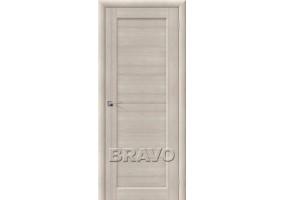 Дверь межкомнатная из эко шпона «Аква-1» Cappuccino Veralinga глухая