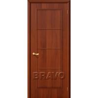 """Ламинированная межкомнатная дверь """"10Г"""" Итальянский орех глухая"""