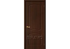 """Дверь межкомнатная из ПВХ """"Альфа"""" Венге глухая"""