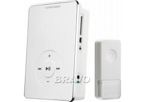 Дверной звонок «DBQ10M WL MP3 16M» беспроводной