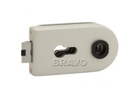 Замок для стеклянной двери «Bravo MP-600-CL» Алюминий
