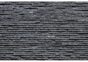 Фасадный облицовочный натуральный камень Shiny Black 42SQ