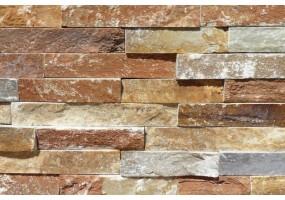 Фасадный облицовочный натуральный камень Sunset Gold 14N