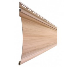Сайдинг Текос Natural Wood Effect оцилиндрованный брус (Блокхаус) Канадский дуб